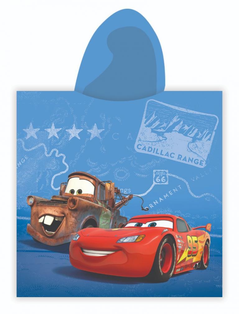 3b3634bad259e8 Niebieskie Ponczo Dla Dzieci 60x120 CARS 08 - Ręczniki dziecięce ...