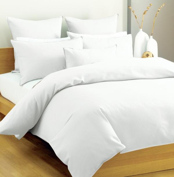 Biała Poszwa Hotelowa Standard 180x200 Pościel Bawełniana 180x200